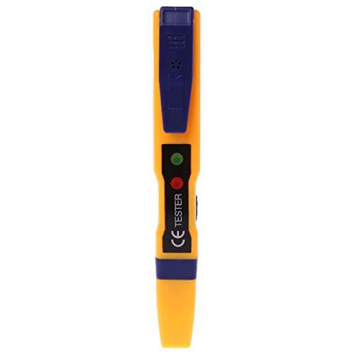 Detector de tensión alterna con luz LED, 90~1000 V