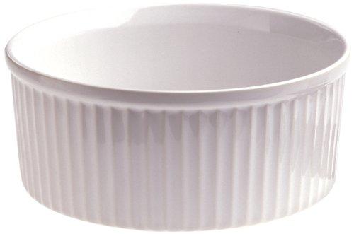 REVOL 615287 Moule à Souffle Porcelaine Blanc 5,4 cm