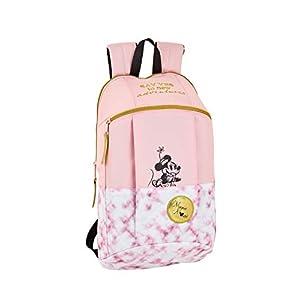 Safta –Minnie Mouse «Blogger» Oficial Mini Mochila Uso Diario 220x100x390mm