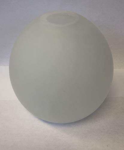 Lampenglas Lampenschirm G9 alabasterfarbig weiss 92mm 92405 -