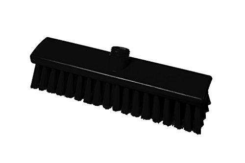 FBK 15023-6 Scopa in Fibra Di Media Morbida, 300 x 60 mm, Colore: Nero - Media Scope