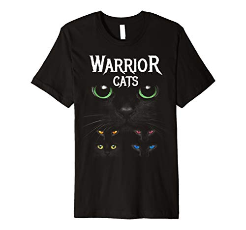 Warrior Cats Eye Graphic Tee, Katzenaugenlicht T-Shirt