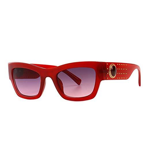 HYUHYU Neueste Unisex Mode Platz Sonnenbrille Vintage Retro Frauen Italien Sonnenbrille Weiblich Männlich Shades Uv400