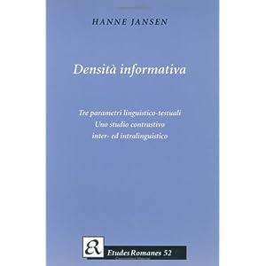 Densita Informativa: Tre Parametri Linguistico-Tes
