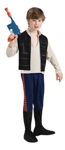 Generique Han Solo Star Wars-Kostüm für Kinder 110/116 (5-6 - Han Solo Kostüm Weste