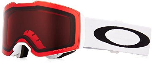 Oakley Unisex-Erwachsene Fall Line 708511 0 Sportbrille, Weiß (Matte White/Prizmsnowrose), 99
