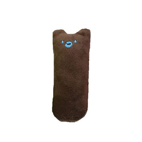 Morza Pet Catnip Plüsch-Spielzeug-Kissen Thumb Cat Zähneknirschen Spielzeug Welpen kauen Ausbildung Spielzeug -