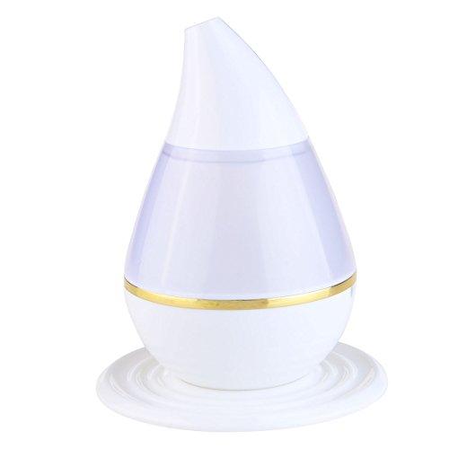 PIXNOR Brume Humidificateur Ultrasonique Diffuseur Aroma Diffuseur d'Huiles Essentielles Humidificateur de 7 Couleurs