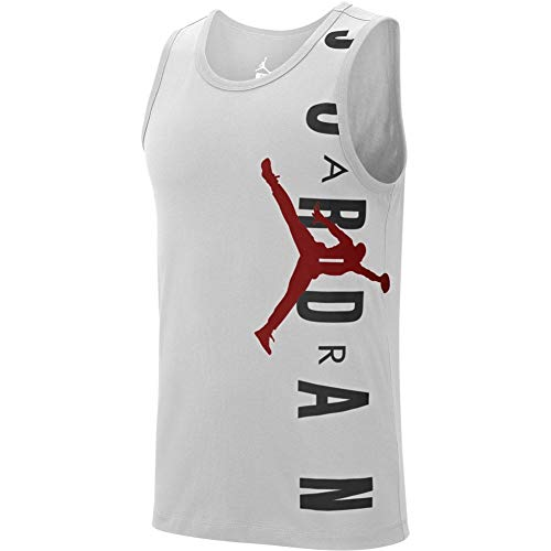Air Jordan Jumpman Mens Size Large Tank Top Jersey Red 23 Basketball High Standard In Quality And Hygiene Men's Clothing