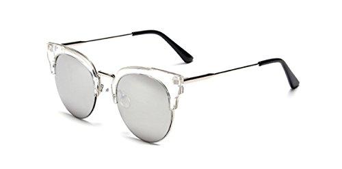 Wer Bin Ich Wilde Frau Sonnenbrille Ultra-Leichtmetall,TransparentBoxMercury