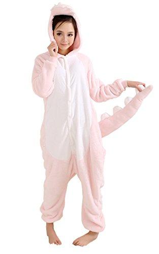 Yue Lian Unisex Erwachsene Onesies Nachtwäsche Cosplay Dinosaurier Kostüm Schlafanzug (L, (Cosplay Kostüm Yue)