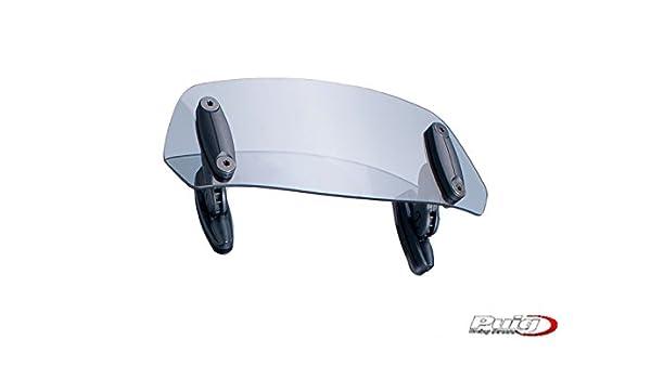 Puig 6007H Adjustable Visor with Template 230/x 90mm Smoky