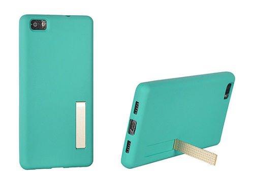 """BACK CASE STAND CASE für Apple iPhone 7 4,7"""" Handytasche Hülle Cover Case Schutzhülle Tasche (rot / red) mint / grün"""