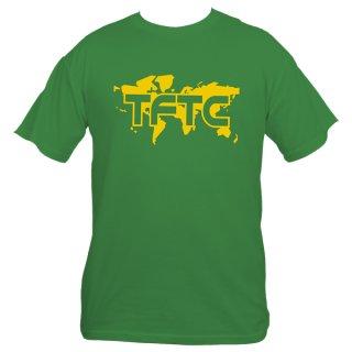 Geocaching T-Shirt TFTC Grün