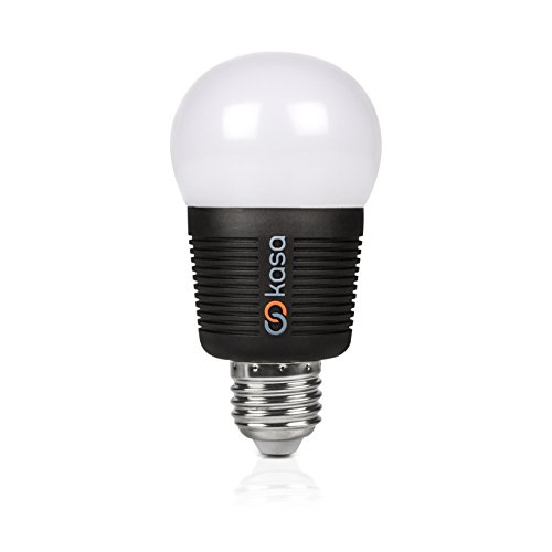 Veho Kasa Bluetooth Smart LED Light Bulb, Smartphone Controlled, Dimmable, Colour Changing, Edison E27, 7.5 W (VKB -002 -E27)
