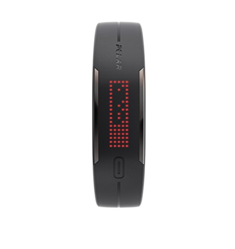 Polar Loop 2 Activity Tracker, Nero, Taglia Unica Regolabile