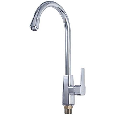 SUN-Migliori maniglia moderna Cucina commerciale lavandino rubinetto in acciaio con