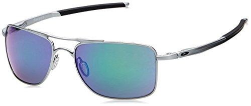 Oakley Herren Gauge 8 OO4124 Sonnenbrille, Grau (Gris Claro), 0