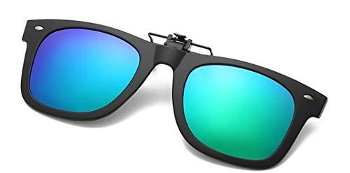 Unisex Sonnenbrille Aufsatz Polarisation Clip On Sonnenbrille-Clips Flip Myopic Sonnenbrille für Outdoor/Driving/Fishing