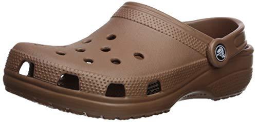 Crocs Classic Clog, Zuecos Unisex Adulto, Dorado (Bronze 854), 39/40 EU