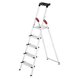 Hailo 8040-307 Escalera de tijera aluminio (3 peldaños)