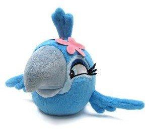 Peluche Angry Birds Rio - Jewel - Prodotto ufficiale - 18x15x15cm