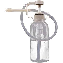 HEALIFTY Vaginal Douche Cleaner Anal Douche für Frauen Cleaning Kit - wiederverwendbare manuelle Druck Einläufe für Douche Kaffee Wasser Colon Cleansing für Frauen Männer