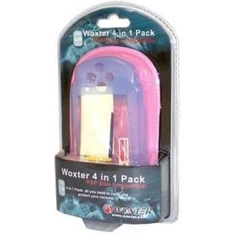 Pack 4 en 1 conpatible PSP Slim color rosa