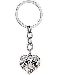 Zedo Porte-clés pour Femme, Porte-clés Original Cadeau Anniversaire Couple  pendentifs pour 2d50a4c292d