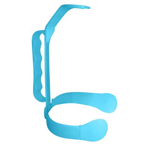 Tianya Universal Flaschengriff fügt Griff zu 1 und 2 Liter Flaschen-Auslauf-Flasche Hinzu,Allzweck Getränkeflaschengriff WasserGgießen Griff (Blau)