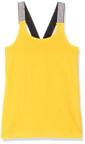 Mädchen Tank Racer (Name IT NOS Mädchen Top Nkfvals XSL Racer Tank Noos, Gelb (Primrose Yellow), (Herstellergröße: 116))