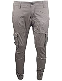 Big Thigh-Pocket Twillpants - beige
