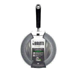 Bialetti 0B6CR028/a induzione crepe pan, in alluminio, 28cm, grigio