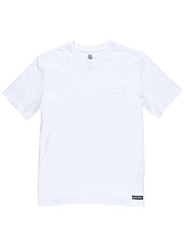 Basic Pocket Crew Neck Größe: L Farbe: Wei§ (Short T-shirt Pocket Sleeve)