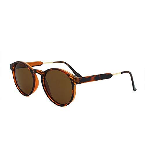 TIANZly Designer-Runde Sonnenbrille-Frauen-Punkt-Mann-Weinlese-Schwarze Kreis-Brillen-Anti-Uva-Sonnenbrille-Schutzbrillen