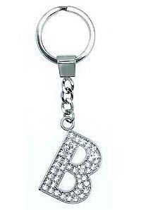 Schlüsselanhänger Buchstabe B (diamante) Buchstabe B Shirt