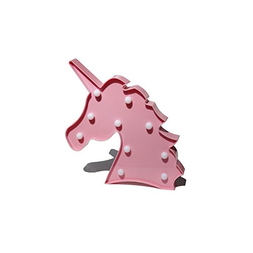 Bad-heizung Vent (MaiMai Lovely Einhorn Night Lights Mood Nights für Kinder Kinder Sweet Kinderzimmer Dekorationen stehendes Licht (Pink))