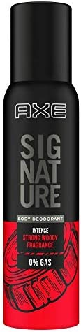 Axe Signature Intense Long Lasting No Gas Body Deodorant For Men 154 ml