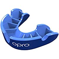 OPRO Silver Level Junior Kids Mouthguard - Gum Shield for Rugby, Hockey, MMA and other Contact and Combat Sports