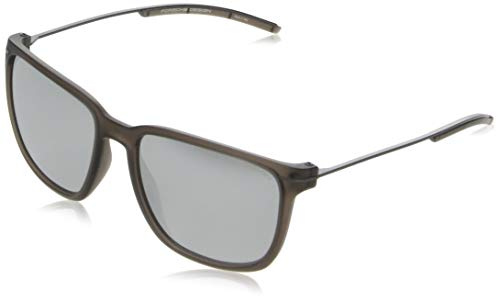 Porsche design sonnenbrille p8637 b 57 17 140 occhiali da sole, marrone (brown), 57.0 unisex-adulto