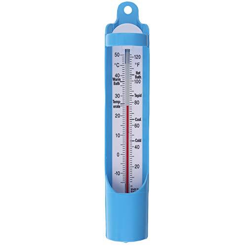 Badewannen-Thermometer 230mm–Wassertemperatur-Kontrolle für Babys, Senioren und Kinder