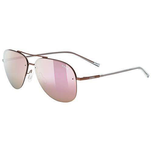 Uvex Erwachsene lgl 40 Sonnenbrille, Purple, One Size