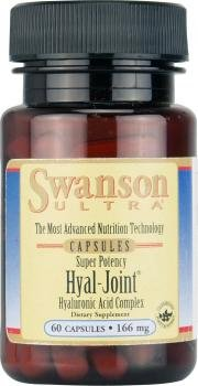 Swanson Ultra Super Potency Hyal-Joint Hyaluronic Acid Complex (166mg, 60 Capsules) by Swanson Health Products
