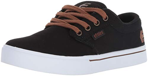 Etnies Unisex-Kinder Kids Jameson 2 ECO Skateboardschuhe, Schwarz (Black/White 976), 38.5 EU Mädchen-skate-schuhe