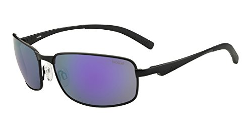 bollé Key West Gafas, Unisex Adulto, Negro (Matte Black), M
