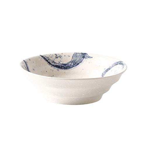 Schicke Schüssel Bol en porcelaine, Vaisselle, Grand bol, Bol à soupe, Rétro, Céramique, Style japonais, Grand bol, Bol à salade, Bol à plat, Grand bol à soupe, Créatif, Maison, Restaurant, Bol à rame