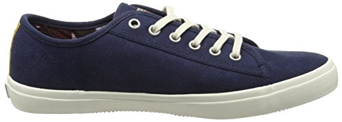 Napapijri Beaker, Baskets Basses homme Bleu - Blau (blue marine N65)