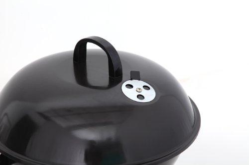 tepro Key West Parrilla Tetera Carbón vegetal Negro, Plata - Barbacoa (Parrilla, Carbón vegetal, 41,5 cm, Tetera, Parrilla, Negro, Plata) - 3