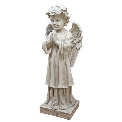 Design Toscano the Angel's Message Garden Statue