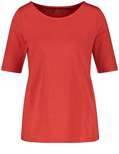 Gerry Weber Damen Shirt Aus Jersey Leger Aurora Red 46 -